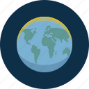 earth, map, world icon
