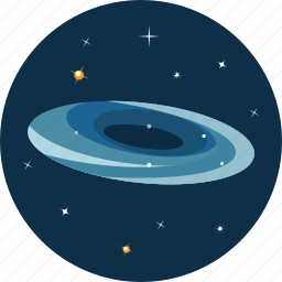 astronomy, nebula, space icon
