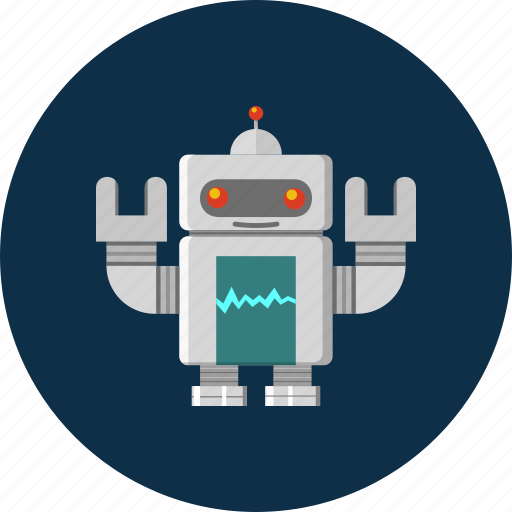 android, machine, robot, robotics, technology icon