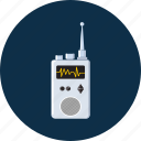 communication, media, radio, transceiver icon