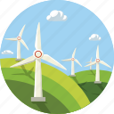 wind, wind energy, ecol, ecology, windmill icon