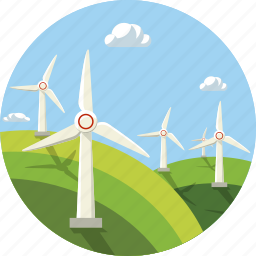 ecol, ecology, wind, wind energy, windmill icon