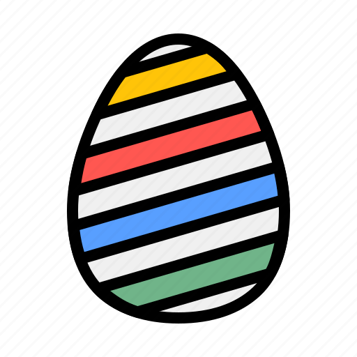 boiled, brakfast, easter, eat, egg, food, party icon