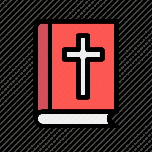 bible, christion, cross, holy, jesus, pray, religion icon