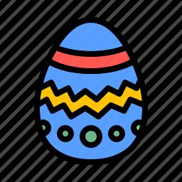 celebration, chocolate, decoration, easter, egg, holiday icon