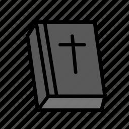 bible, crucifixion, easter, sacrifice icon