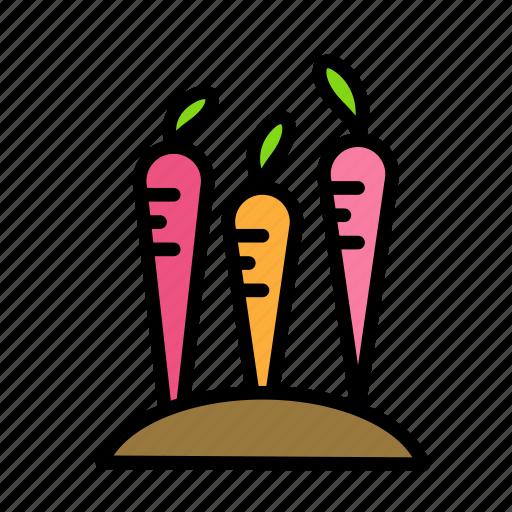 carrots, crucifixion, easter, sacrifice icon