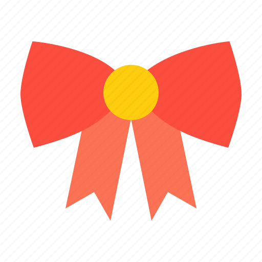 bow, christmas, decorate, decoration, easter, ribbon icon
