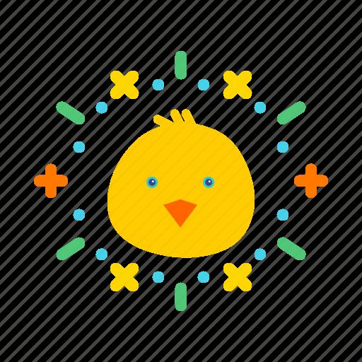 celebrate, celebration, chicken, easter, festival icon
