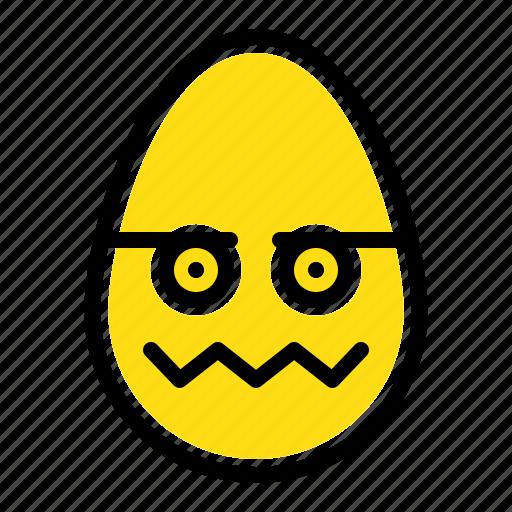 celebration, decoration, easter, egg icon