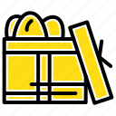 birthday, box, day, gift icon