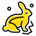 bunny, easter, nature, robbit icon