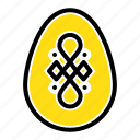 bird, decoration, easter, egg icon