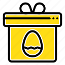 box, easter, egg, gift icon