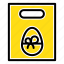 easter, egg, gift, weight icon