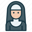 avatar, catholic, character, nun, religion