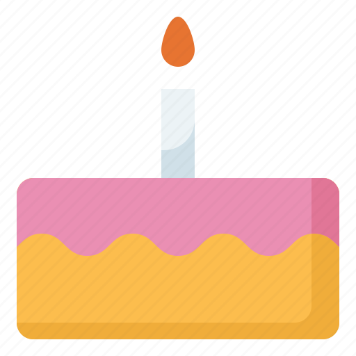 Birthday, cake, candle icon - Download on Iconfinder