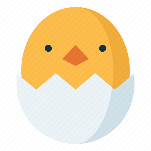 Chick, easter, eggs icon - Download on Iconfinder