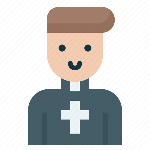 Christian, pastor, priest icon - Download on Iconfinder