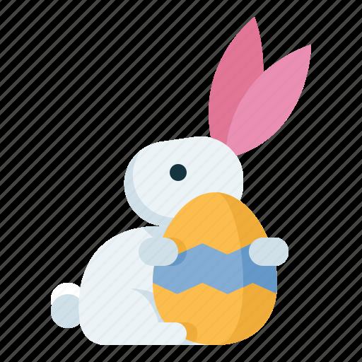 Easter, egg, rabbit, spring icon - Download on Iconfinder