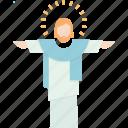 resurrect, jesus, christ, easter icon