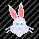 bunny, cute, easter, rabbit, animal