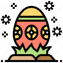 decoration, easter, egg, festival, holiday icon