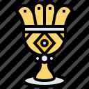 cup, easter, goblet, prize, reward