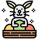 animal, bunny, easter, festival, rabbit