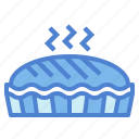 bakery, dessert, pie, sweet icon