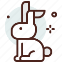 bunny, christianity, church, resurrection icon