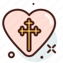 christianity, church, heart, resurrection icon