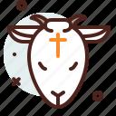christianity, church, lamb, resurrection