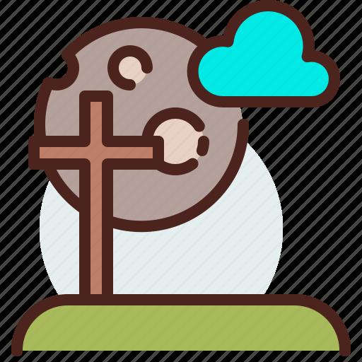 christianity, church, night, resurrection icon
