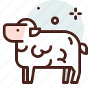 christianity, church, resurrection, sheep icon