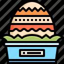 easter, egg, cultures, painting, decoration, basket