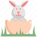 day, decoration, easter, egg, holiday, rabbit