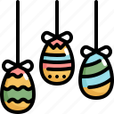 day, decoration, easter, eggs, holiday