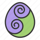art, easter, egg, egg hunt, paint icon