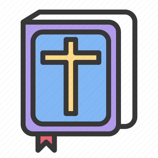 bible, book, easter, holy, religion icon