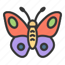 animal, bug, butterfly, easter, insect, spring icon