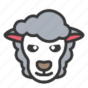 animal, easter, lamb, sheep, spring icon