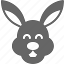 bunny, easter, hare, rabbit icon