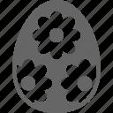 blossom, daisy, easter, egg, flower icon