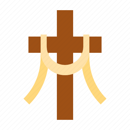 calvary, christian, easter, egg, happy easter, holidays, spring season icon
