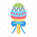 candy egg, easter, egg, happy easter, holidays, lollipop, spring season icon