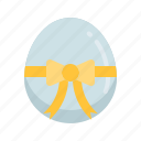 easter, egg, egg gift, happy easter, holidays, present, spring season icon