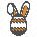 bunny, easter, egg, holiday, rabbit