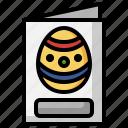 greeting, card, invitation, envelope, egg, celebration