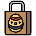 shopping, bag, shopper, supermarket, easter, commerce